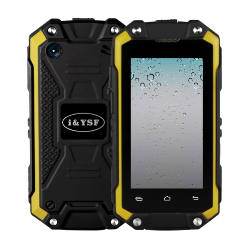 New products mobile phone J5+ Triple Proofing Phone, 1GB+8GB, IP65 Waterproof Dustproof Shockproof, Android 5.1 Quad Core