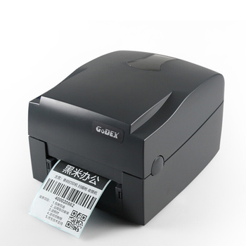 Godex G500 203spi USB dymo shipping jewelry tag taffeta satin wash care label thermal transfer label barcode printer