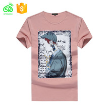Short-Sleeve Men Ordinary Printing T Shirt