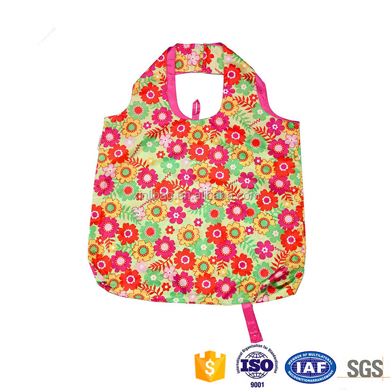 Soft hand feel environmental friendly non woven foldable shopping bag