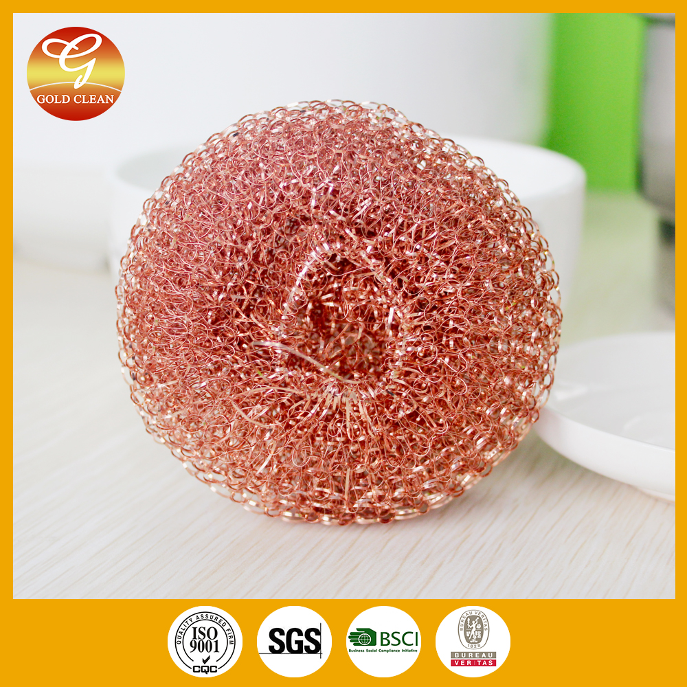 high quality copper mesh scourer