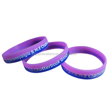 Best Custom Slap Silicone Bracelets Personalized Germanium Rubber Wristbands