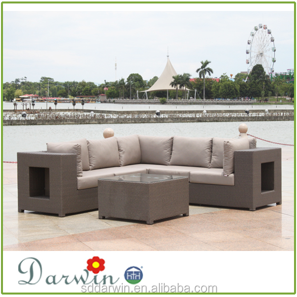 Ratán Mimbre Al Aire Libre Muebles De Jardín Sofá Set - Buy Product ...