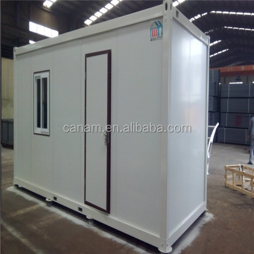 Prefabricated low cost modular flat pack 20ft modular house