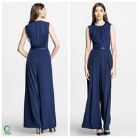 JPS022 Fashion Summer 2017 Latest Women Long Design Jumpsuit Wholesale