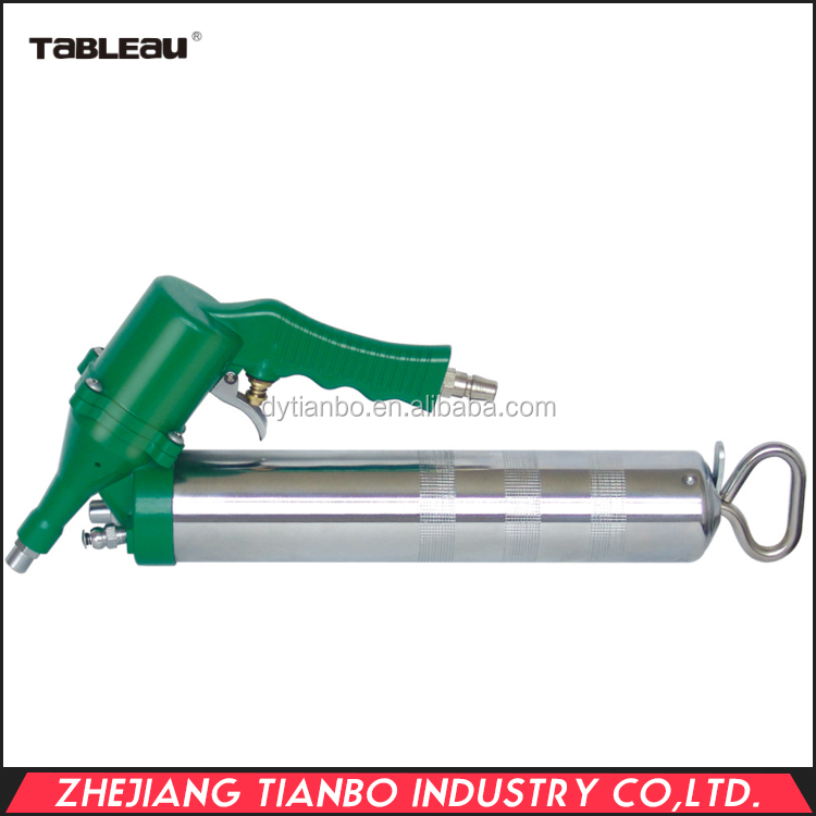 400cc Air Grease Gun, transform to hand grease gun by changing handle&head cap,