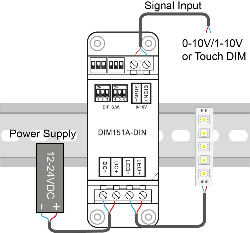 HTB14UTaJpXXXXcGXpXX760XFXXXh din rail dimmer pack 0 10v 1 10v dimming signal led dimmer 12v 1-10v dimming wiring diagram at gsmx.co