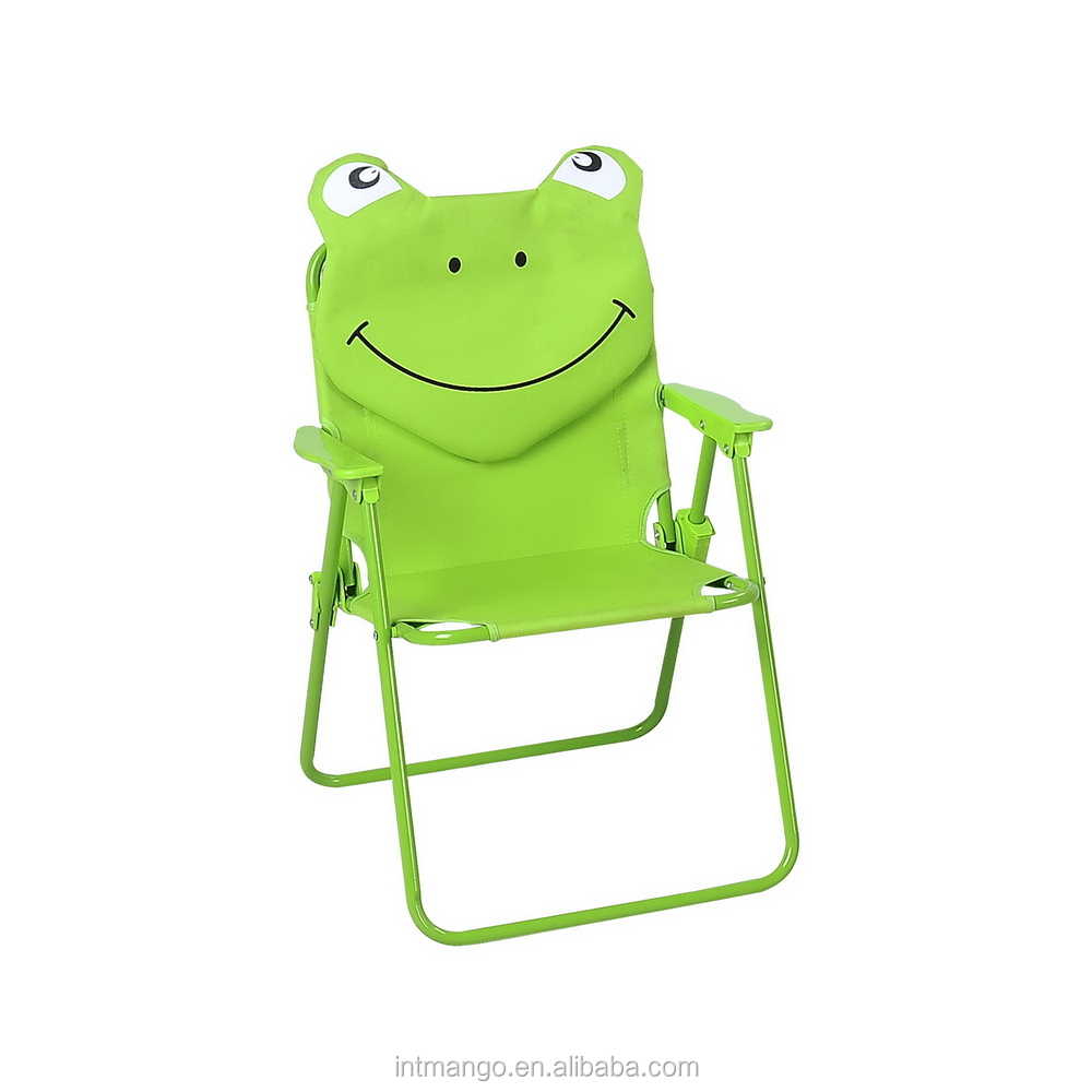 Green Frog Kids Folding Beach Chair With Headrest   Buy Folding Beach Chair  With Headrest,Kids Folding Chair,Kids Folding Beach Chair Product On  Alibaba.com