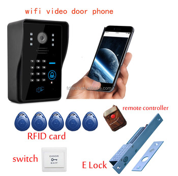 Wfk12 Doorbell With Motion Detection Pir Sensor Function
