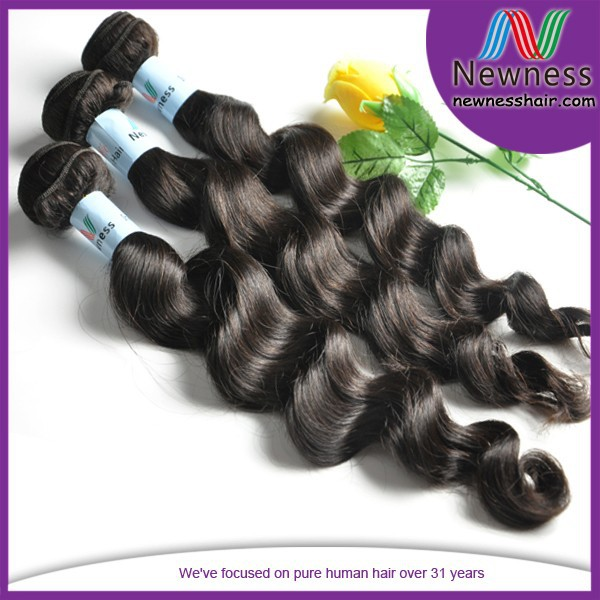 Top quality 100% raw unprocessed human hair weave virgin chinese natural hair shops