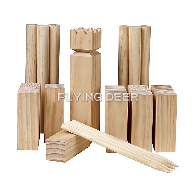 Wood Throw Spiel Spielzeug für draußen Outdoor Play 101012