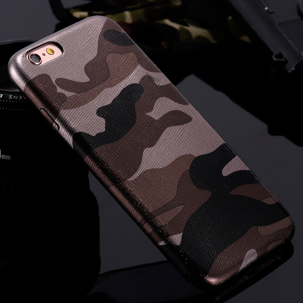 2016 New For iPhone 7 Military Camouflage Cool Men Leather ...