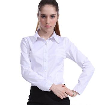 Ladies Long Sleeve Business Shirts