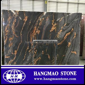 Polished Magma Gold Granite Slab Black Galaxy Price Golden Product On Alibaba