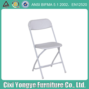 Company anniversary party Plastic folding chair