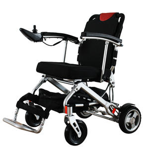 Battery power folding electric wheelchair seat lift electric wheelchair