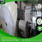 adhesive thermal paper roll jumbo roll 75gsm+60gsm
