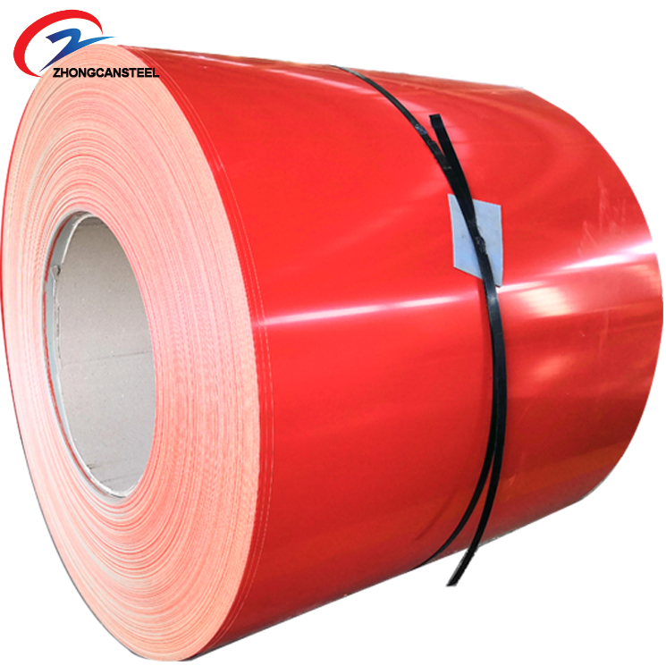 Factory Manufacture PPGI Steel Coil, Color Coated and Prepainted Galvanized PPGI Steel Roll