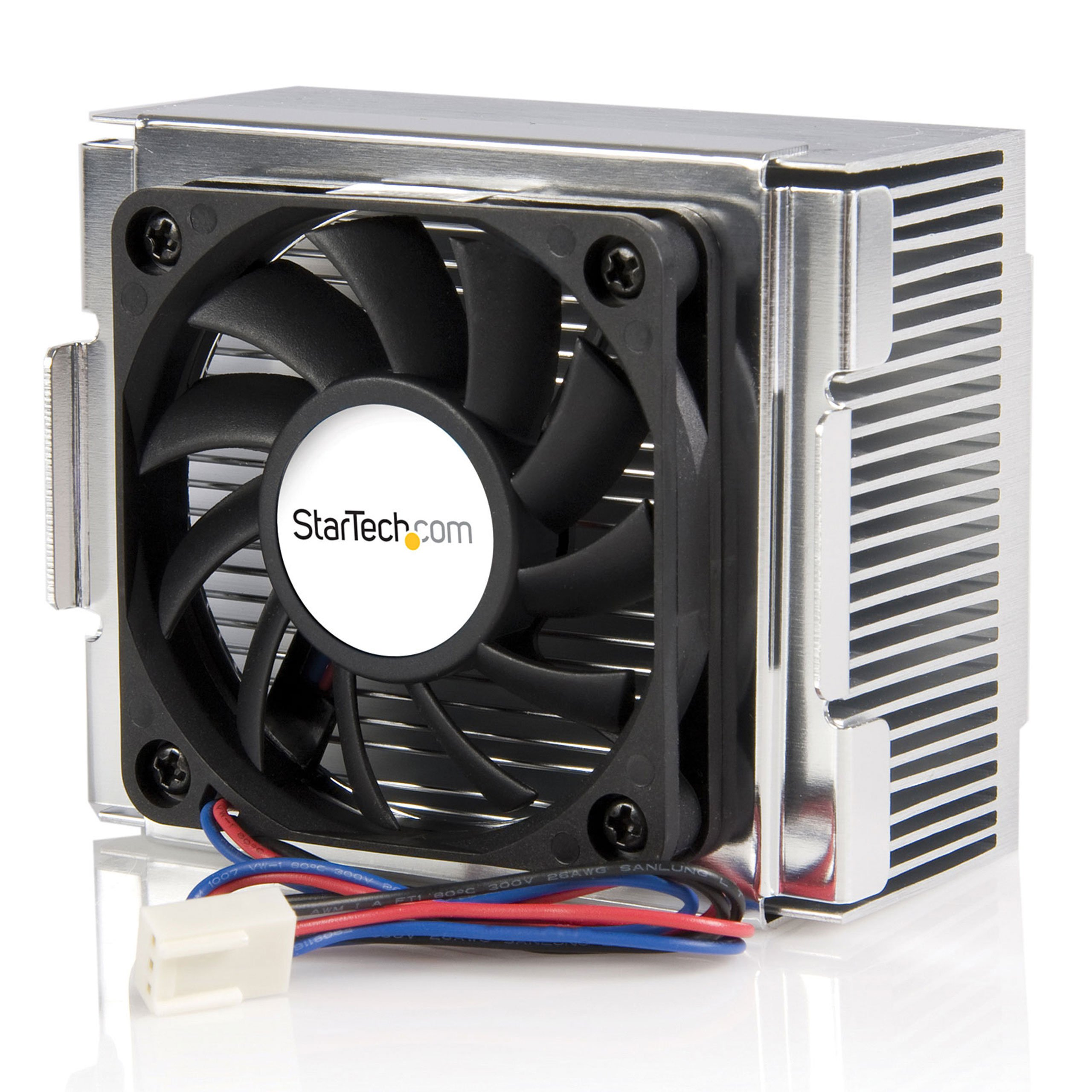 StarTech.com 85x70x50mm Socket 478 CPU Cooler Fan with Heatsink & TX3 Connector FAN478 (Black)