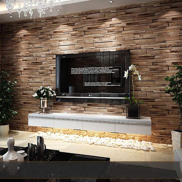tapeten wohnzimmer stein traumhaus design. Black Bedroom Furniture Sets. Home Design Ideas