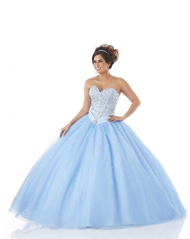 68b19dff61a Get Quotations · Light Blue Quinceanera Dresses With Bow Vestido Debutante  Lace Up Ball Gown Quinceanera Dress Vestido De