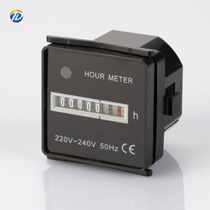 DOTO AC220V 240V 110V 24V 50Hz 60Hz 48*48 digital timer hour meter counter hm 1