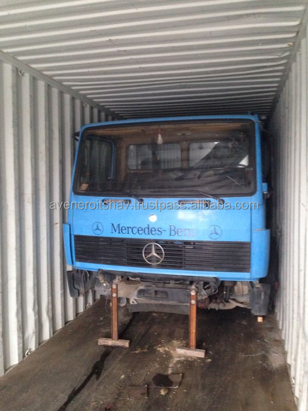 Mercedes Benz Trucks Half Cuts