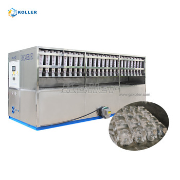 6 Tons/day Industrial Ice Cube Making Machine with Packing System