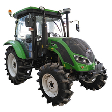 QLN agriculture equipment farm 70 hp wheeled tractors price