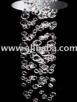 Modern Design Glass Bubble Pendant Light Ceiling Lighting Fixture ...