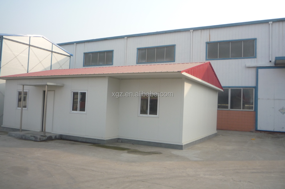 Low cost steel structure sandwich panel beautiful design prefabricated house for sale