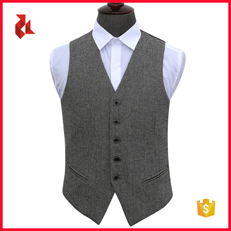 Mens Wedding Polyester Solid Tuxedo Vests Wholesale