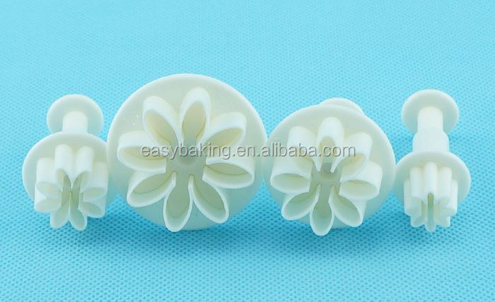 FP-0002 cake decorating Daisy Marguerite plunger cutter set