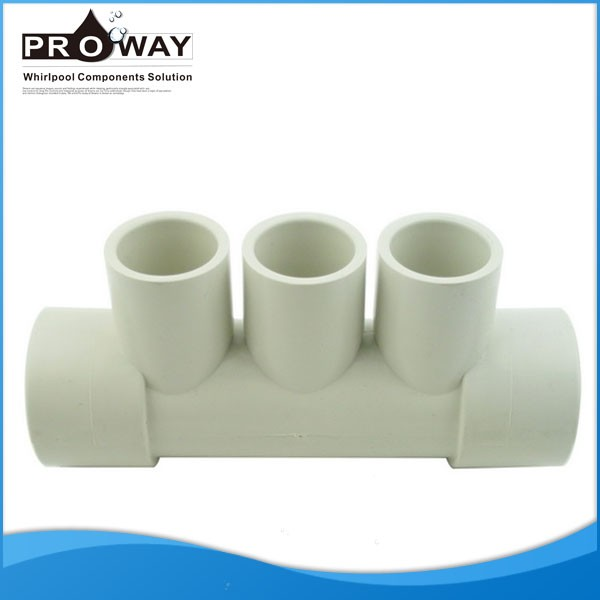 Bathroom Accessories WC Toilet Water Manifold 3 Outlets For Bathtub Water Hose Connector 5 Ways Fitting