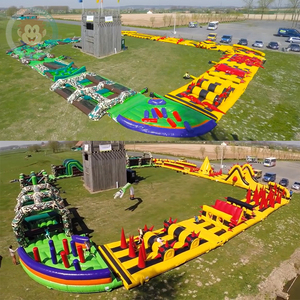 giant outdoor boot camp inflatable obstacle course rental extreme run 5k obstacle course for sale adults inflatable sports games