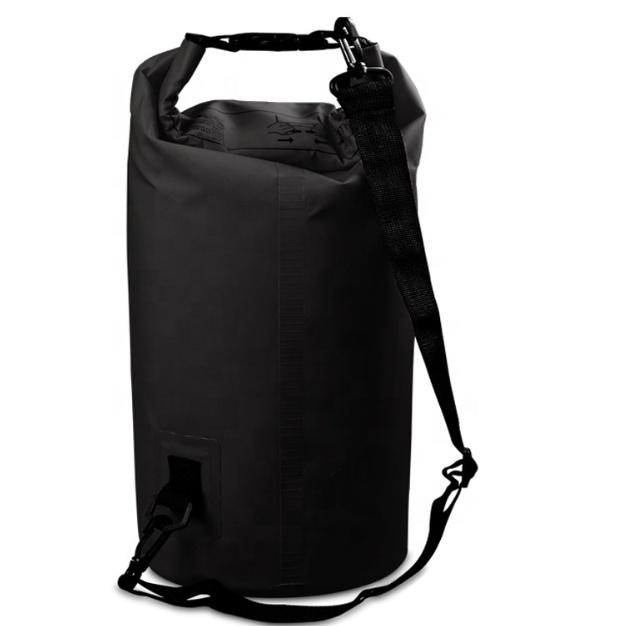JUNYUAN आउटडोर बहाव बैग निविड़ अंधकार बाल्टी बैग अस्थायी सूखी बैग