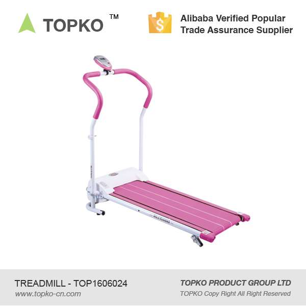 TOPKO Folding Electric Treadmill Portable Motorized Running Machine Fitness Exercise Home Gym Treadmill
