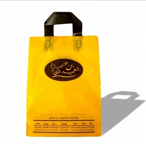 Promo Eco-friendly rope handle folding LDPE shopping bag