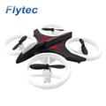 Flytec H823 6-Axis Gyro RC Drone with LED Light Altitude Hold flashing In Night Black