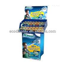 High Quality low price retail products cardboard bubble gum display