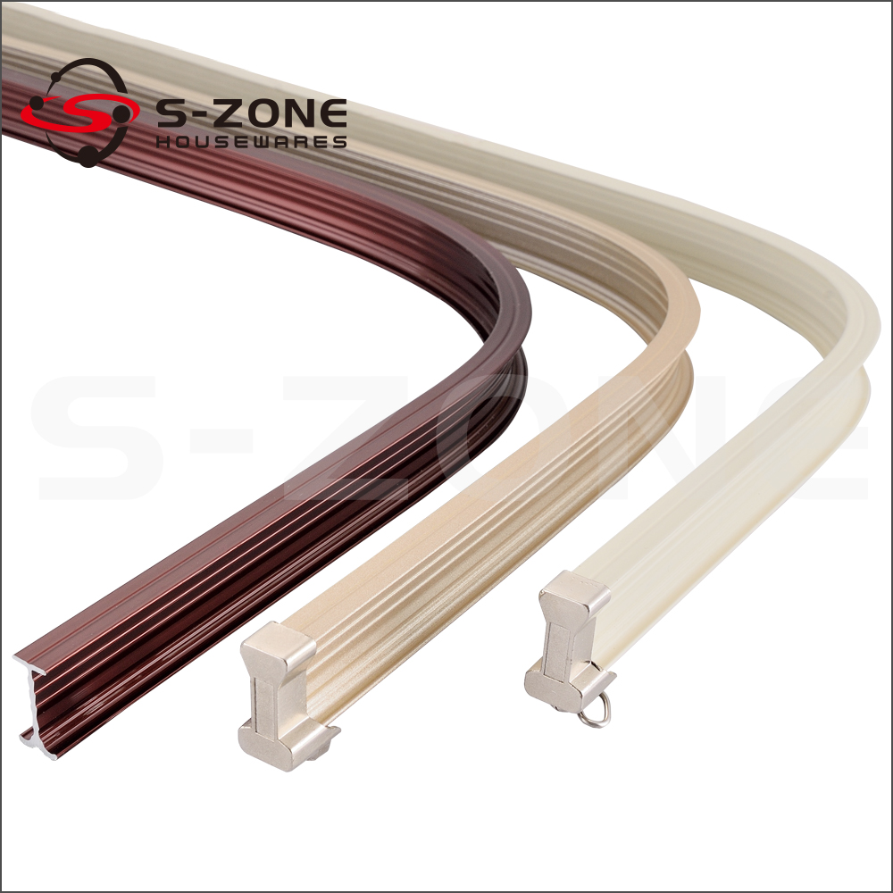 Garage Sliding Door Track Bending Curved Curtain Track