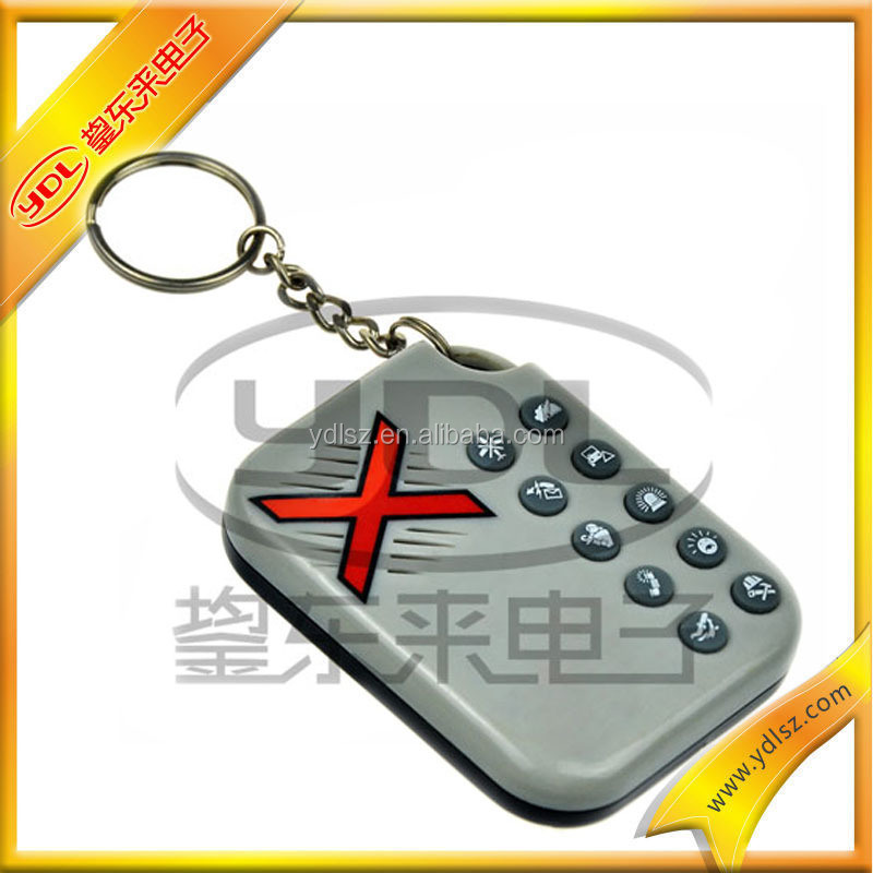 China Manufacture Mini Tool Kit Keychain With Custom Voice