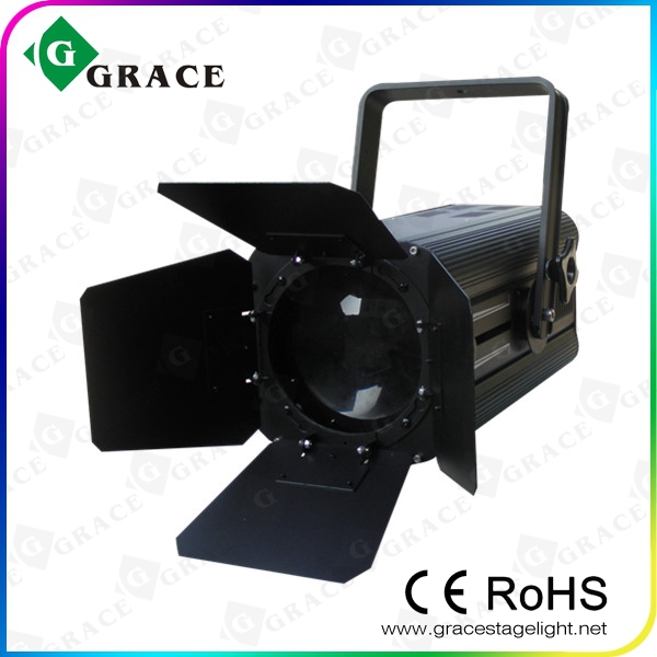 180w rgbw quadcolor TV Studio Theater Stage LED Fresnel Spot Light