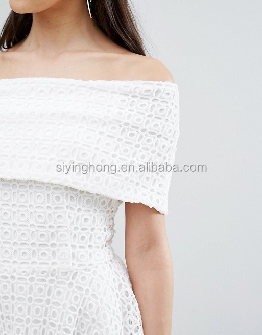 b2039f4f Latest fashion dress design for young girls white lace dress summer women  clothes