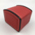 NEW High Grade Black Red 2 Colors Leather Box Small Pocket Retail Travel Watch Box