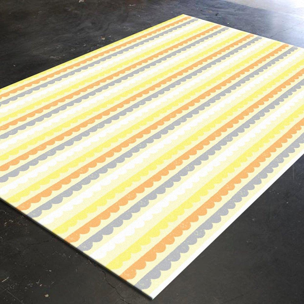 Yellow Mat, Pattern Decor, Colorful Mat, Bedroom Mat, Living Room Mat, Yellow Gray Decor, Mat 5x8, Colorful Home Decor, Neutral Mat, Area Mat?