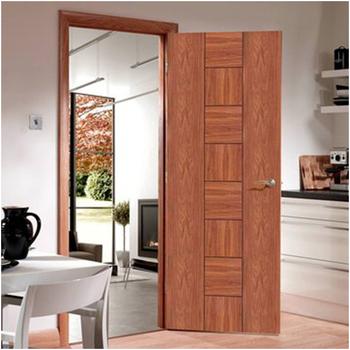 Home Office Hotel Use Interior Doors Fancy Wood Door Design