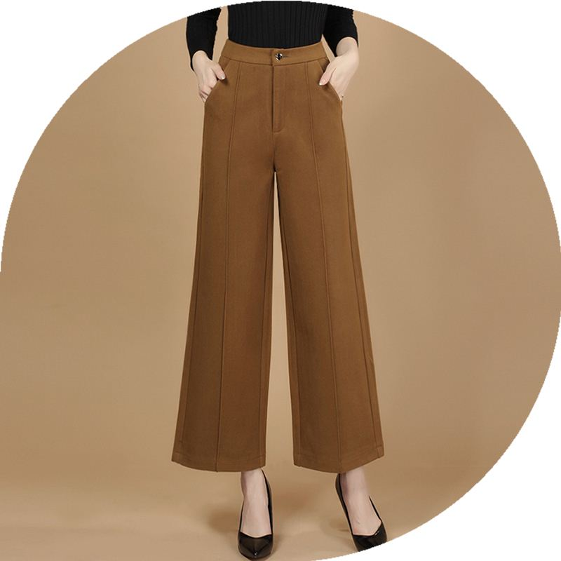 Polyester cotton women dance pants ninth trousers wholesale