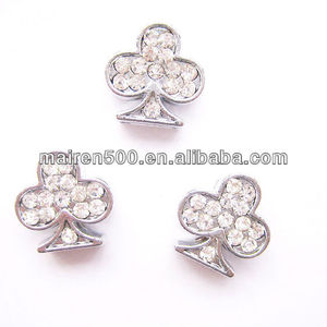 Free Shipping DIY Rhinestone club Slide beads (JY-507)