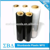 China supplier shrink film packaging paper stretchy plastic